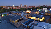 Solar Decathlon competition in Madrid