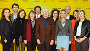 Nicholas Zumtobel (5th from left), together with the jury of the Dr. Walter Zumtobel Award and members of the Zumtobel family.