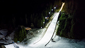 "Thorn: The Thorn lighting solutions for two Swiss ski jumping arenas,  the famous World Cup ski jumping hill ""Gross-Titlis-Schanze"" in Engelberg and the Nordic Ski Arena in Kandersteg, are providing optimal visibility and perfect conditions for TV..."