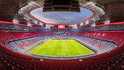 The Zumtobel Group provides a complete lighting solution for both indoor and outdoor use in one of the world's most modern stadiums, the Allianz Arena.