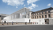 The James Simon Gallery is the new entrance to Berlin's Museum Island.