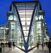 Exterior View of the Landsecurities Building in London.